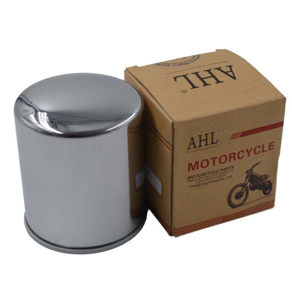 AHL 170 Oil Filter for XL1200C SPORTSTER CUSTOM 74 CI 1996-2014 2017 (black)