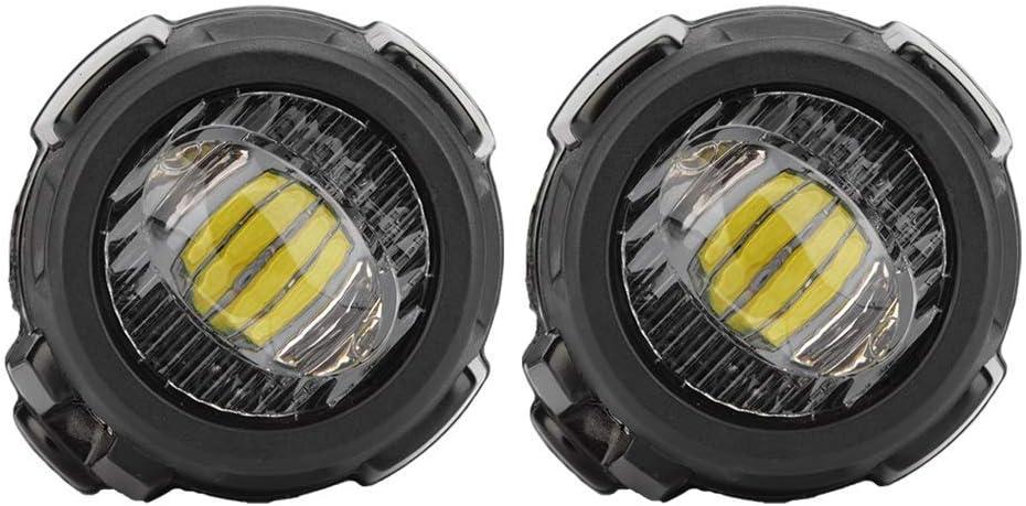 Bo/îtier en Aluminium Moul/é pour Adventure Moto 1200GS 800GS 850GS 1250GS 310GS 650GS 700GS 750GS Fankr Phare Moto Feux Additionnels LED Phare Antibrouillard Auxiliaire avec Supports en M/étal