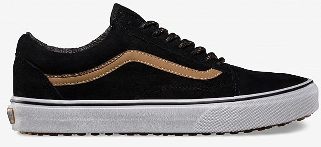 4912bc3515 Vans Men s Old Skool MTE Technical Skateboarding Shoes Black Black Tobacco  Brown  Amazon.co.uk  Shoes   Bags