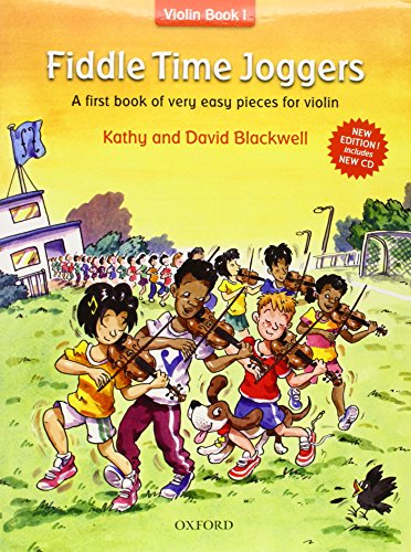 Book First Violin (Fiddle Time Joggers: A First Book of Very Easy Pieces for Violin)