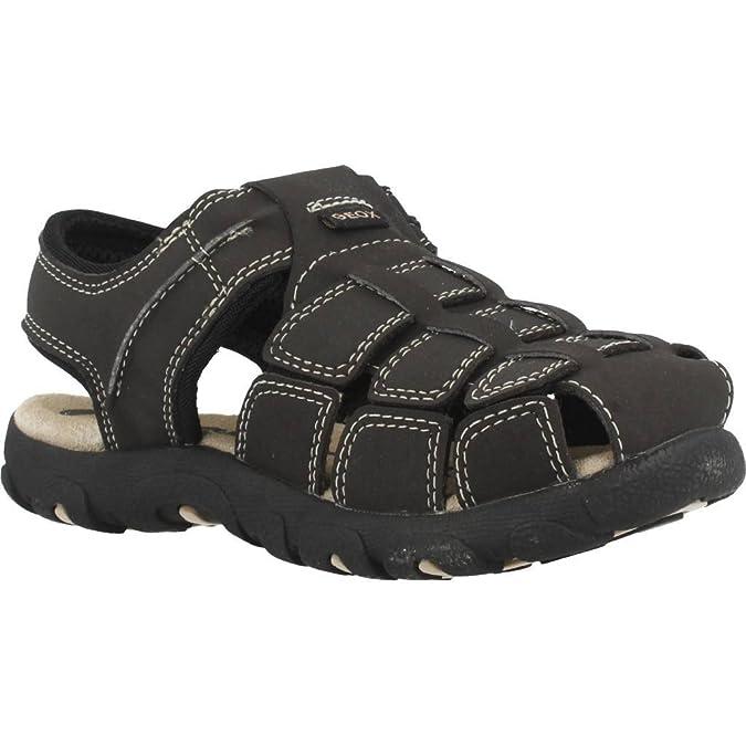 b574bd7d2ab9a1 Geox Jungen Jr Sandal Strada C Geschlossene  Amazon.de  Schuhe   Handtaschen