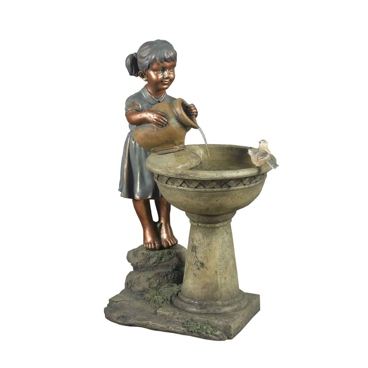 Jeco FCL010 Versando Bird Bath Outdoor, Multi by Jeco Inc.