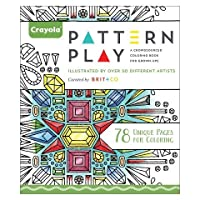 Crayola Aged up Coloring Adult Coloring Book - 78 Unique Pages for Coloring