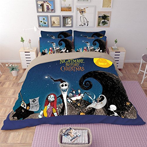 Lotus Karen Microfiber Polyester 3D Bedding Sets,Marilyn Monroe,Star Wars,nightmare before christmas,Wolverine,Iron Man,Captain America,1Duve Cover,1Flat Sheet,2Pillowcases