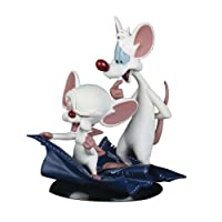 Quantum Mechanix - Figurine Pinky and the brain - Minus Et Cortex QFig 10cm - 0812095023655