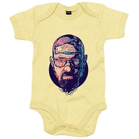 Body bebé Breaking Bad Walter White ilustración - Amarillo ...