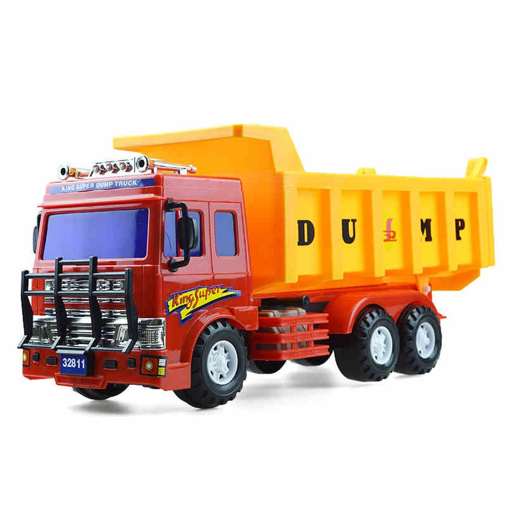 Unbekannt FEI Babyspielzeug Kinder Spielzeugauto Modell Inertia Auto Simulation Dumpers Pp Kunststoff Spielzeug Transport Kipper Frühe Erziehung