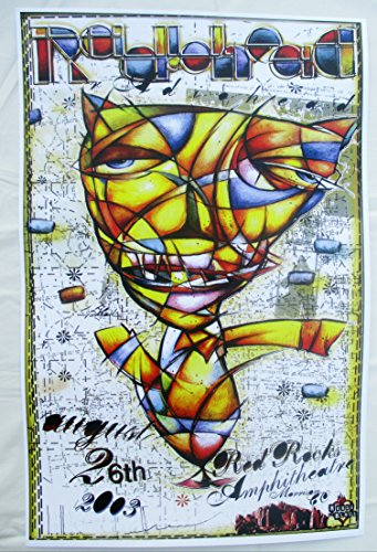 2003 Radiohead Concert Poster