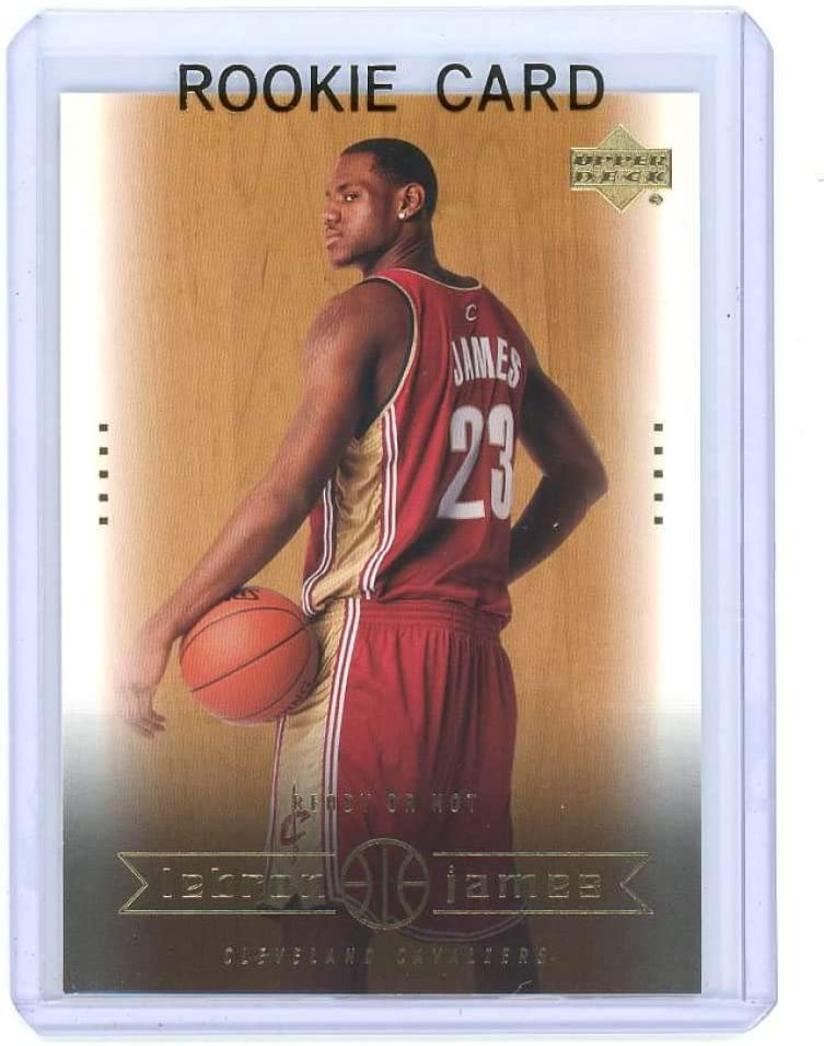 Amazon Com 2003 Upper Deck 30 Ready Or Not Lebron James Rookie Card Mint Condition Ships In A Brand New Holder Collectibles Fine Art
