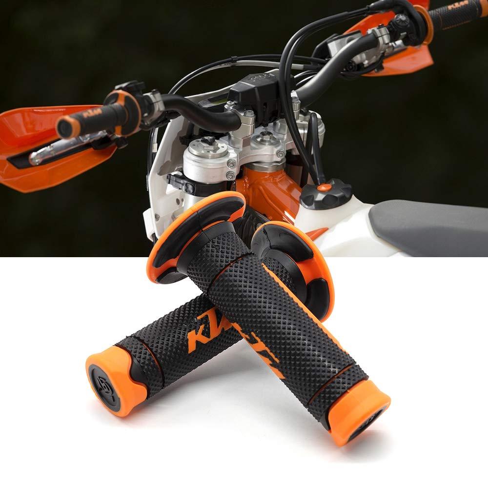 Aikeec Motorrad Lenkergriffe Lenker Gummi End Thruster Grip Compound Handgriffe 7//822mm