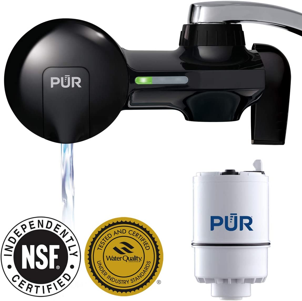 PUR PFM100B Faucet Mount Water Filter