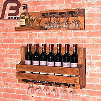 Buy Bharat Furnish House Hanging Bar Cabinets Do The Old Wall Wine