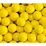 Golden Yellow Shimmer Sixlets Candy 1LB Bag