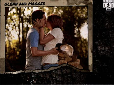 do glenn and maggie dating in real life