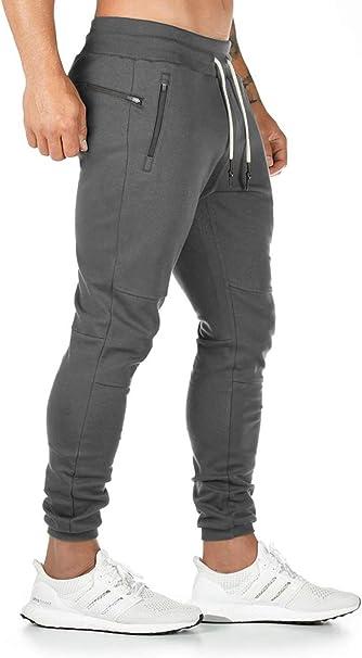 Ehpow Herren Jogginghose Cargo Chino Fitness Slim Fit Hosen Joggers Streetwear Sporthose Freizeithose