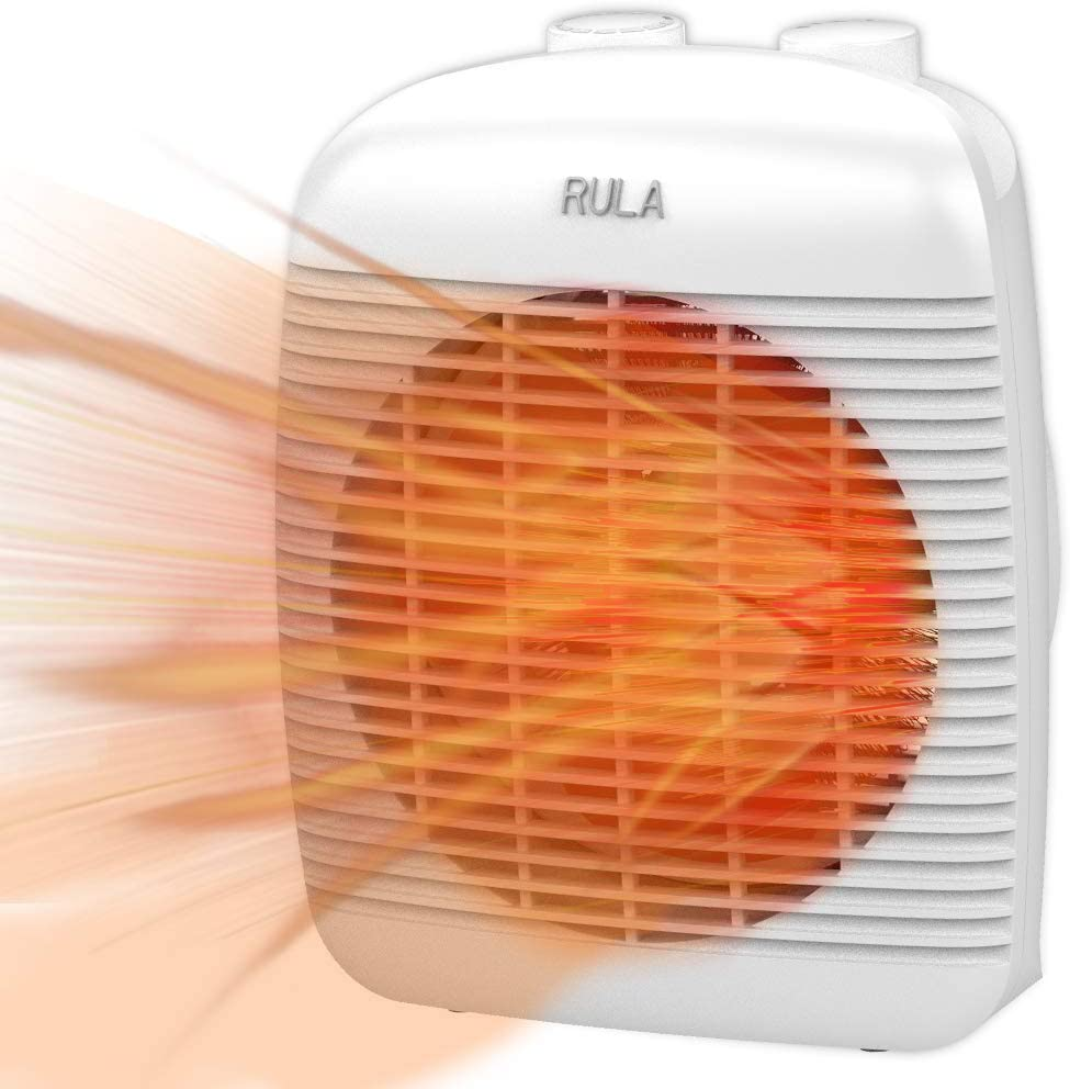 Rula Space Heater Portable Electric Heater With Over Heat Protection And Tip Over Protection Fan Heater Of 1500 750w 1s Quick Heating Small And Quiet Suitable For Office Home Use Amazon Ca Home Kitchen