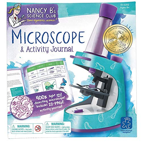 Nancy B Science Club Microscope & Learning Materials/T&G Activity Journal Science Ei-5350 Learning Resources