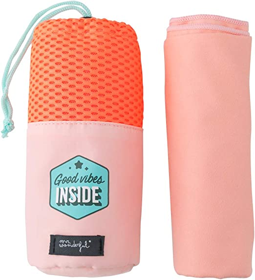 Multicolore Unica Wonderful Asciugamano-A/Cool/Towel/to/Have/Extra/Power Mr