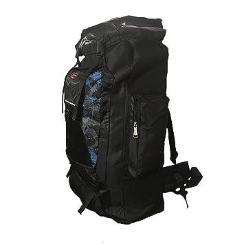 SPORT- Mochila senderismo para mochilero. Color negro. 45L: Amazon.es: Deportes y aire libre