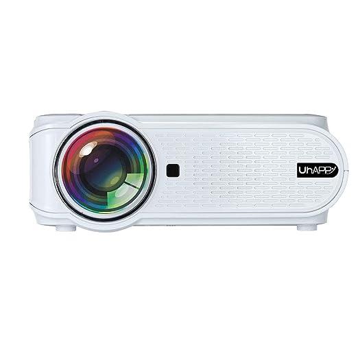 CELINEZL Proyector Uhappy U90 1500LM 800 * 480 Proyector LED de ...