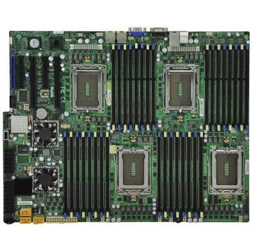 (Supermicro H8QG6-F Motherboard - Amd SP5100;AMD SR5670;AMD SR5690 - Socket G34 - DDR3 Sdram)