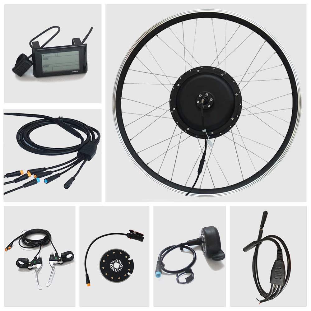 TZIPower 36-48 V, 200-800 W, 250 W, 500 W, 750 W, 800 W Kit de conversi/ón para Bicicleta el/éctrica