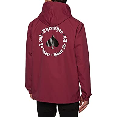 7a3679eb4a57 Amazon.com  Thrasher Jackets New Oath Coach Jacket  Clothing