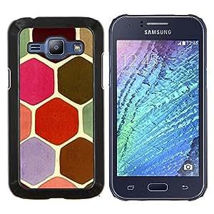 Stuss Case / Funda Carcasa protectora - Tono pastel Colores Pink Turtle - Samsung Galaxy J1 J100