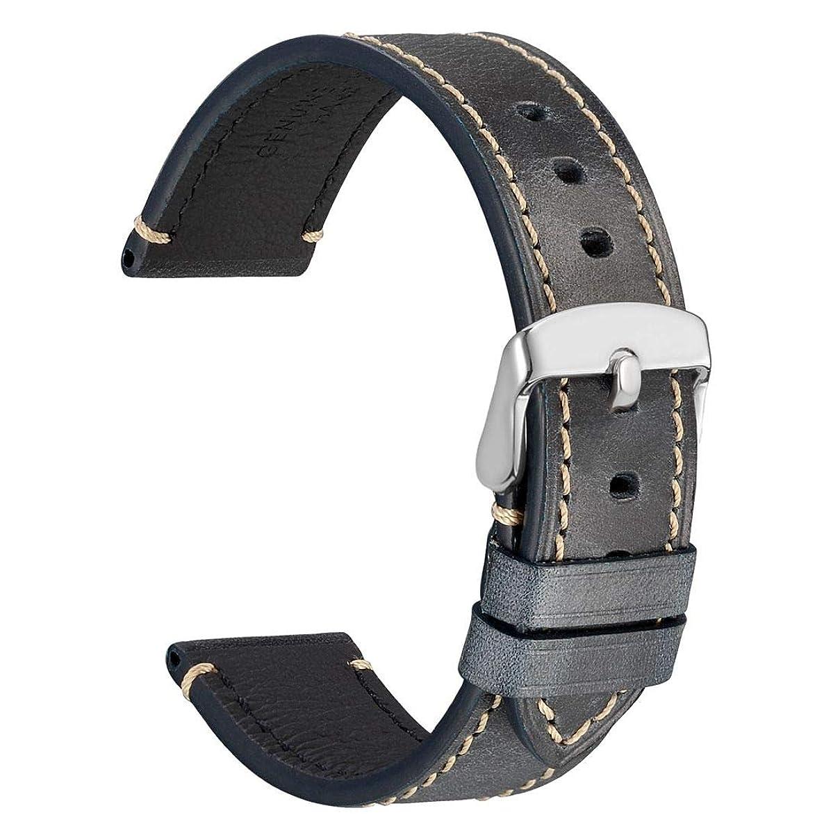枯渇体操選手スキームSWISS REIMAGINED ウォッチまたはバックルにウォッチバンドを取り付けるためのステンレススチール製のスプリングバーピン(2個1組) - 1.8mm直径