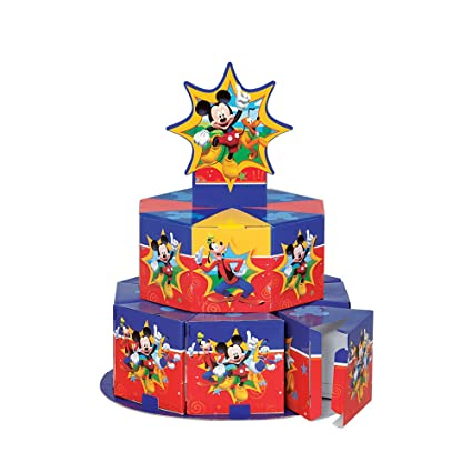 Amazon Mickey Mouse Clubhouse Favor Box Centerpiece Decoration For 8 Toys Games