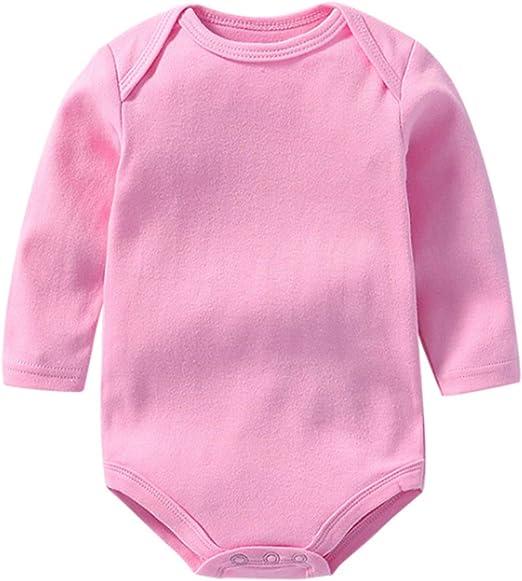 BABIFIS Monos de bebé, Tela de Doble Cara de algodón Unisex Mono ...
