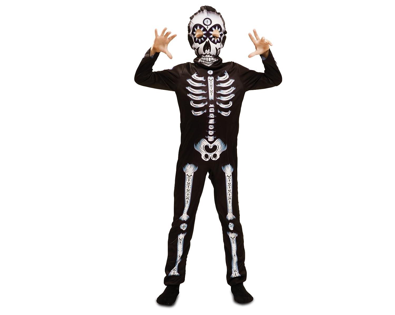 My Other Me Me-202243 Disfraz de Día de los Muertos para niño, 7-9 ...