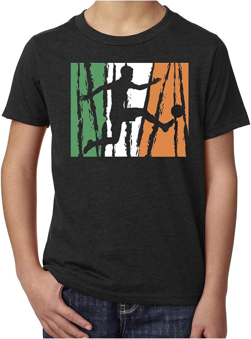 Mato /& Hash Irish Soccer Pride Irish Flag Shirt Youth Soccer Shirts