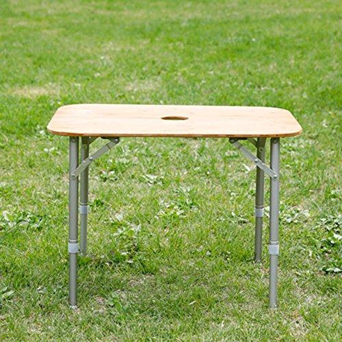 NEUTRAL OUTDOOR ニュートラルアウトドア バタフライバンブーテーブル B0734Y27NS