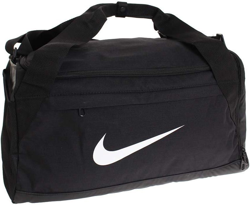 Nike Brasilia Duffel Bag Small Black White Size Small