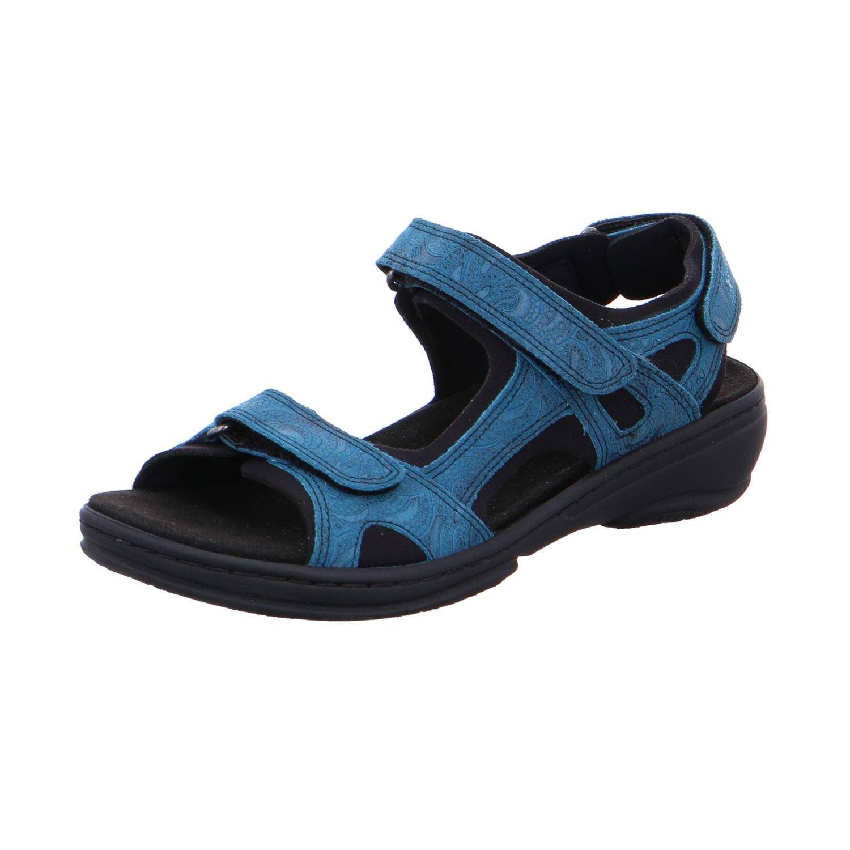 Fidelio Damen Sandaletten Trekking Sandale GINI 445007-15 blau 396634
