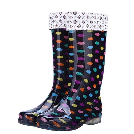 stivali da pioggia colorati donna