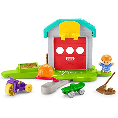 Fisher-Price Little People Big Helpers Garage: Toys & Games