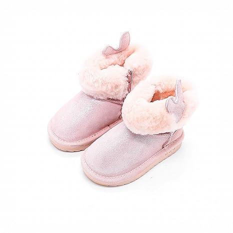 Inverno Ragazze Principessa Neve Stivali Bambini Caldi Più