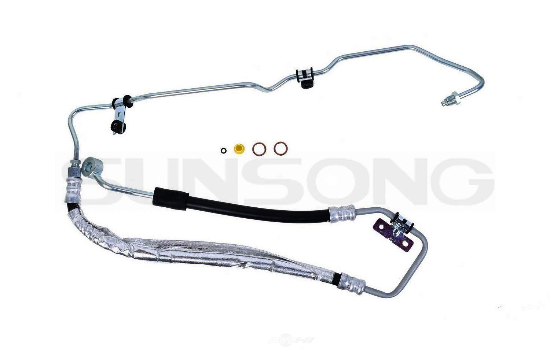 Sunsong 3404601 Power Steering Pressure Line Assy