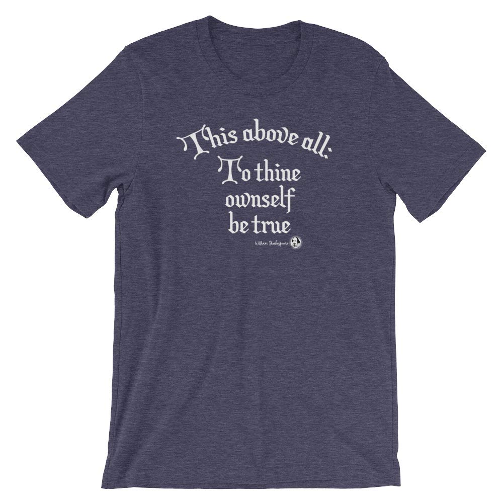 Shakespeare Quote Short-Sleeve Unisex T-Shirt