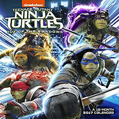 Teenage Mutant Ninja Turtles 2017 Calendar: Out of the ...