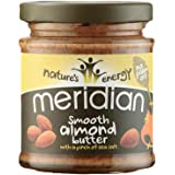 Meridian Smooth Almond Butter With A Pinch Of Salt, 170g