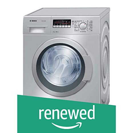 (Renewed) Bosch 7 kg Fully-Automatic Front Loading Washing Machine (WAK24268IN, Grey)