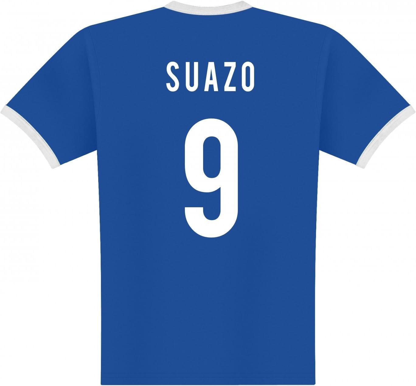 World of Football Player Camiseta Honduras suazo: Amazon.es: Deportes y aire libre