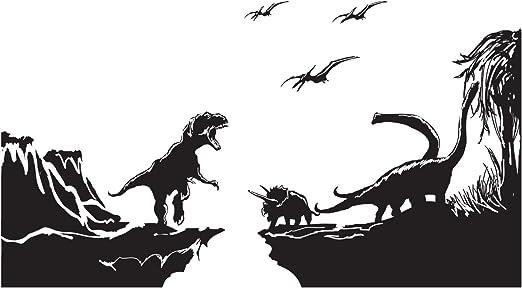 Dinosaurs Jurassic World Park T-Rex Vinyl Sticker Lots Of 10