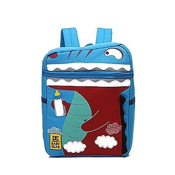 Mochila Infantil, 3D Mochila de dinosaurio para Niñas de Niños Pequeños, Mochila Regalos para Niños.Crea diversión para niños y niños pequeños y padres.