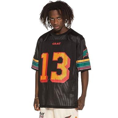 Grimey Camiseta Football Wild Child SS19 Black