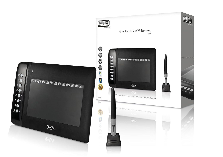 Sweex TA008 Tableta digitalizadora 4000 líneas por Pulgada ...