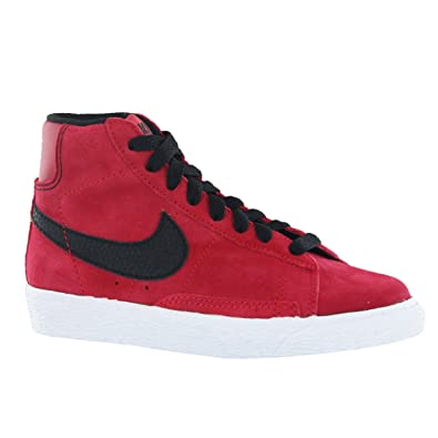 finest selection 9cf1b 98c5e Nike Blazer Mid Vintage GS Red Suede Kids Trainers Size 13 UK   Amazon.co.uk  Shoes   Bags